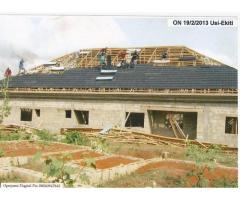 High quality and affordable stone coated step tile roofing sheets call Mike