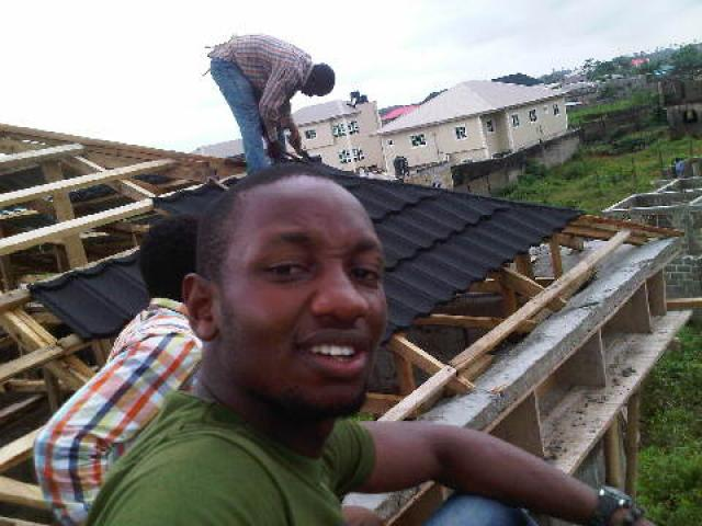Docherich original korea stone coated roofing sheet going for 2200, call mr donald 07062764235