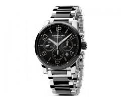 eMontblanc - TimeWalker - Chronograph Watch - Silver Stainless Steel