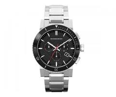 Burberry Sliver Stainless Steel (Bu9380)