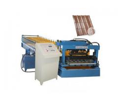Aluminium Step Tiles Roofing Sheets Corrugation Machine