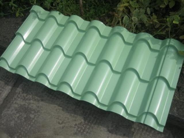 Aluminium Roofing Sheet : Aluminium step tiles roofing sheets corrugation machine