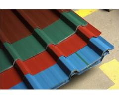 Oven Baked Conventional Long Span Roofing Sheet Roll