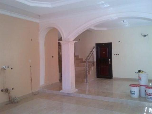 Finished To Taste With Marble Floor Tiles Duplex For Sale Lagos Mainland Nairatinz Com