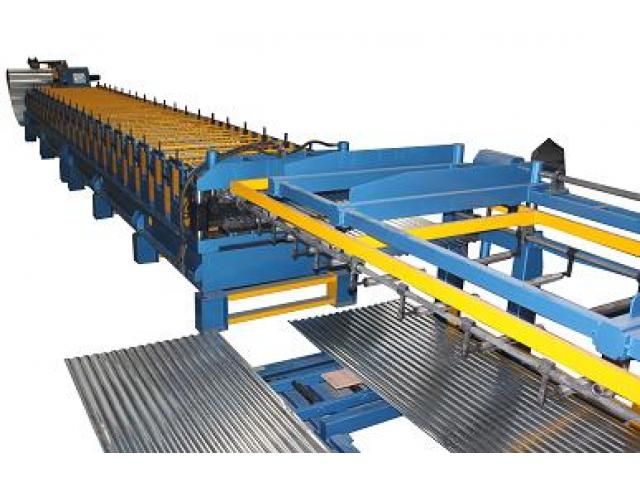 Corrugated Steel Roofing Sheet Roll Former For Sale