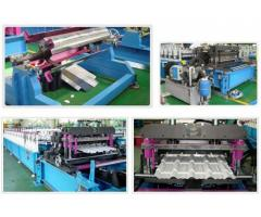 Metal Roof Tiles Sheet Making Machine For Sale