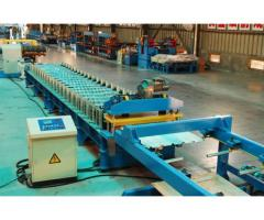 Trapezoidal Profile Roof Panel Roll Forming Machine For Sale