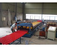 Aluminium Metcopo Step Tile Rollformer For Sale