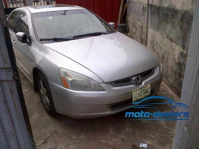 Registered Honda Accord Eod