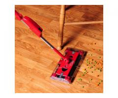 rechargeable swivel sweeper