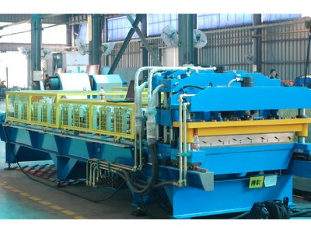 Corrugated And Step Tile Roofing Sheet Making Machine For