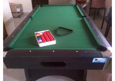 Standard billiard snooker pool table at Ehi sport mart