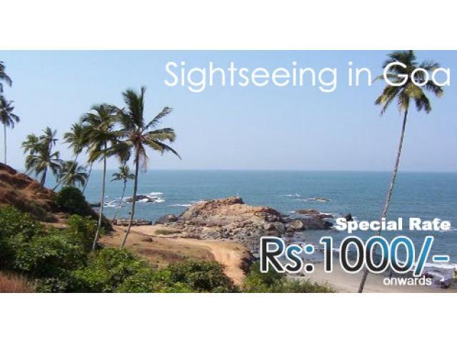 Sightseeing in Goa