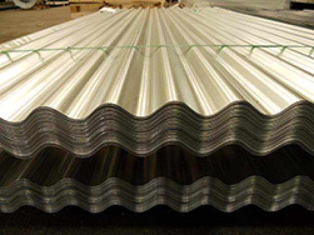 Corrugated Cameroon Zinc Roof Cladding Sheets Making