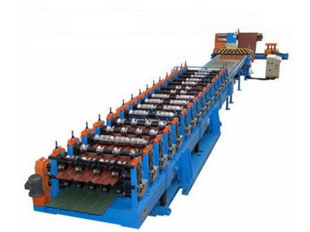 Straight Aluminium Roofing Sheet Corrugating Machine For Sale