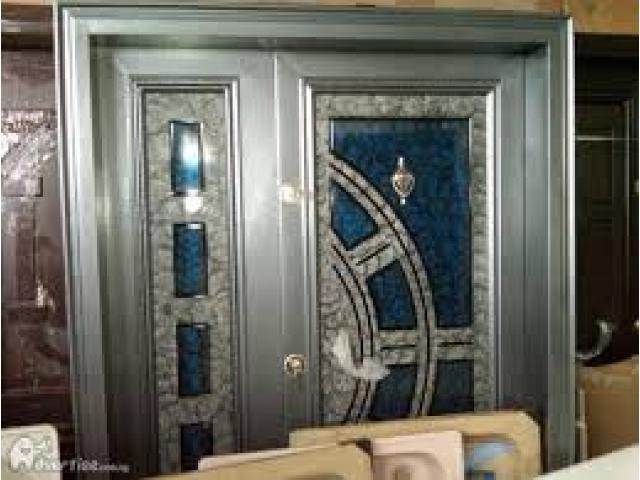 Solid Turkey And Steel Doors Available On Good Price Lekki