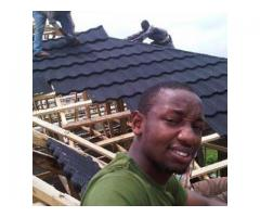 Roofing sheets in nigeria ? Docherich stone coated roof tiles is the best 07062764235