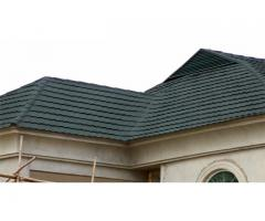 HIGH GRADE STONE COATED STEP TILES ROOFING SHEET BY DS ROOFING SYSTEM, S/KOREA