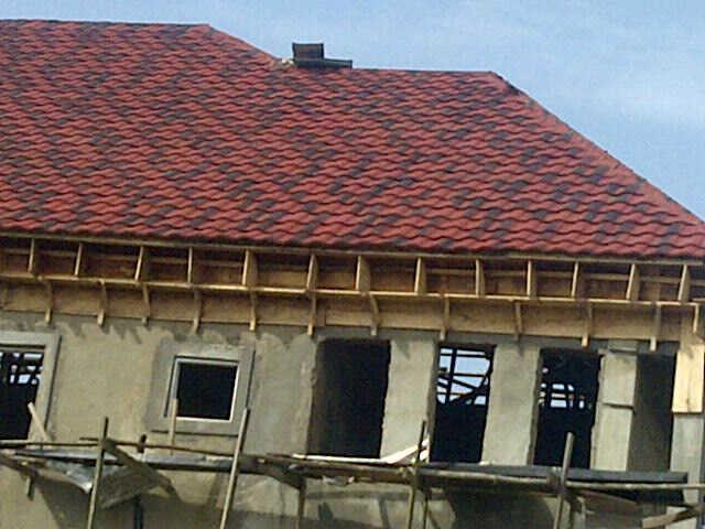 High Grade Stone Coated Step Tiles Roofing Sheet By Ds