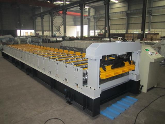 Single Deck Corrugation Aluminium Machine For Sale