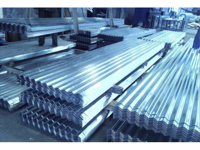 Galvanized Roofing Sheet Cladding : Galvanized corrugated iron roof clad sheet production line