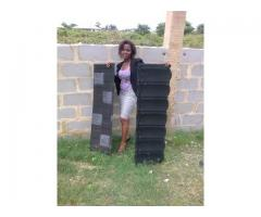 Call korede for original and quality shingle stone coated roofing sheet 07065516856