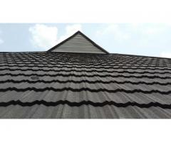 Stone coated roofing sheets nonfaded at reduce price