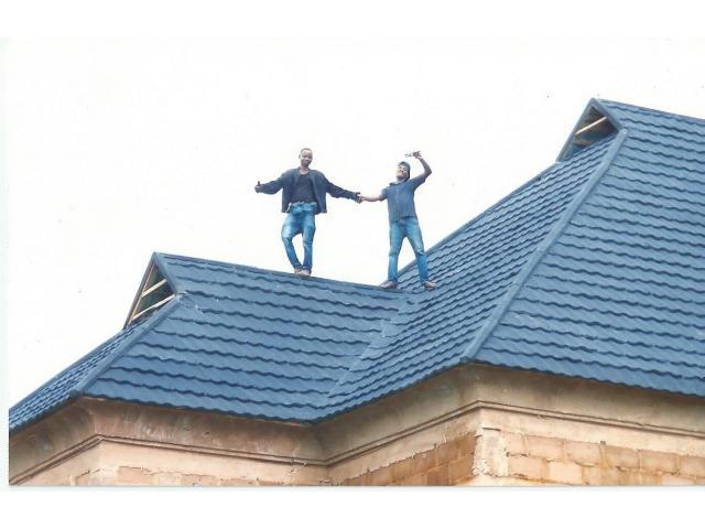 At Batlan U Hav The Modern Design Of D S Stone Coated Roof Tiles With Anti Rust Properties Benni Nairatinz Com