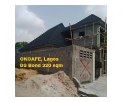 cost of roofing a bungalow with 0.55mm stone coated roof tiles