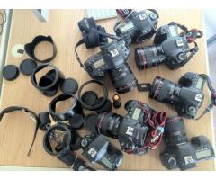 London used Canon EOS 5D Mark III Cameras