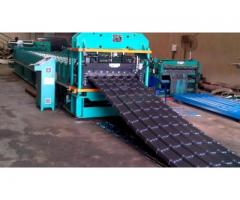 Steptiles Roofing Sheets Roll Corrugation Machine For Sale