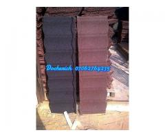 Bond stone coated roofing sheet from docherich nig ltd 07062764235