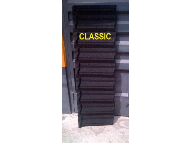 Stone Rooftiles Coated Al Zinc Model Roofing Sheets Bennin