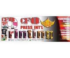 Graphic design, Printing, Publication, Consultation and Training