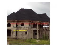 Stone coated step tiles roofing sheet / roof tiles Nigeria