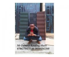 WE SLL THE BEST IN STONE COATED ROOFING SHEET