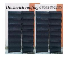 Docherich stone coated roofing sheet in lagos state, call mr donald