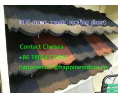 HPS new design stone coated metal roof tiles in Nigeria