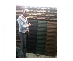 if you wana bond stone coated roofing sheet its available 3100sqm