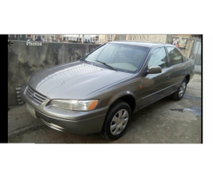 tiny light camry 1999 model, call 07062764235