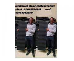DNL outstanding stone coated roofing sheet from docherich nig ltd 07062764235