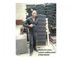 Docherich 50yrs warrantee stone coated roofing sheet in lagos 07062764235
