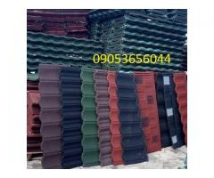 Stone coated step tiles roofing sheet / roof tiles aluminium in NIGERIA