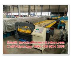 Aluminium Long Span Wide Gutter Roofing Sheet Corrugating Machine with 10 Years Guarantee