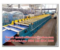 Galvanised / Chromadek Wide Span Roof Panel Roll Forming Machine