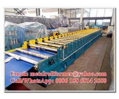 Galvanised / Chromadek Wide Span Roof Panel Roll Forming Machine