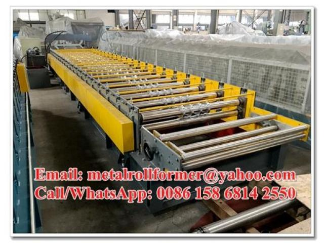 Prepainted / Zinc Steel Roofing Sheets Manufacturing Machine With PLC Controller