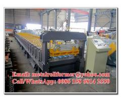 Customized IBR Wall / Roof Panel Roll Forming Machine 3PH /50HZ