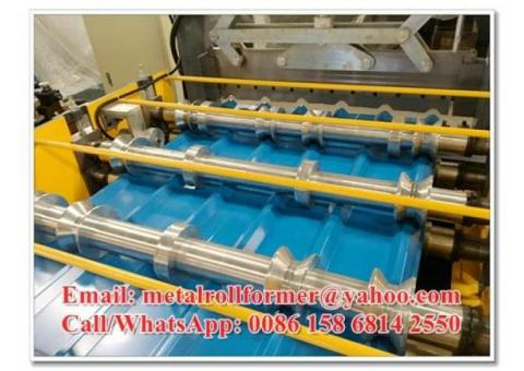 Automatic High Rib Roof Corrugated Sheet Roll Forming Machine 1200mm 1220mm