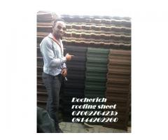 quality stone coated roofing sheet 07062764235